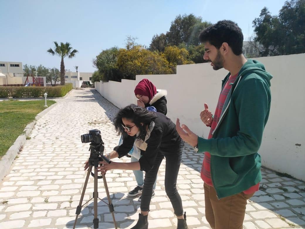 Cycle de formation pour les élèves des clubs scolaires à la production audiovisuelle